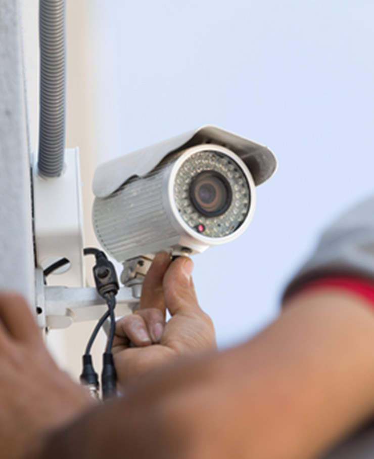 CCTV installation in Reading, Berkshire, UK for domestic home or business premises