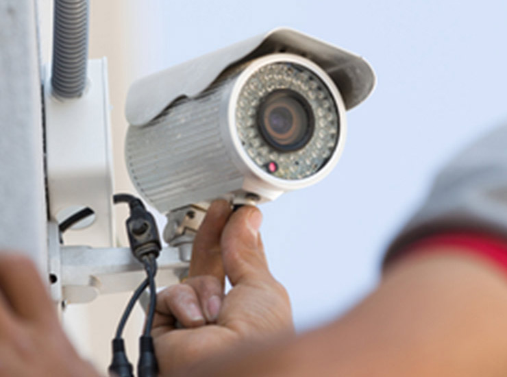 CCTV installation in Reading, Berkshire, UK